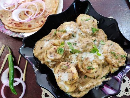 Egg korma masala