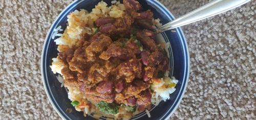 Rice Rajma Bowl