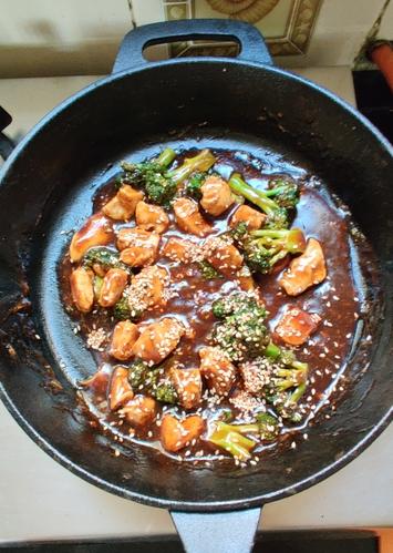 Broccoli Chicken Stir Fry