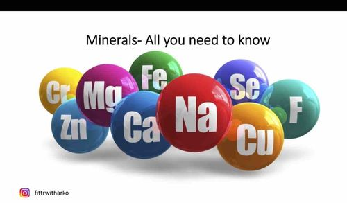 Minerals - All you need to know