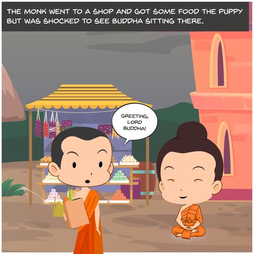 The Story Of The Buddha's Blessings