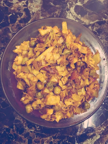 Soya cabbage fry