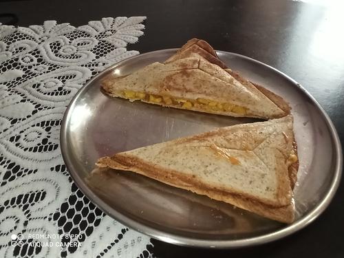 MultigrainBread Corn Sandwich
