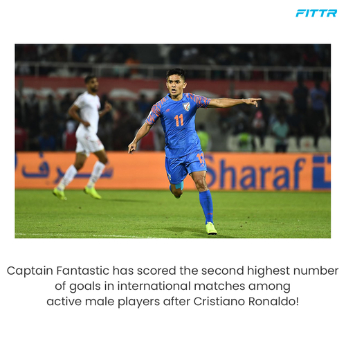 """Captain Fantastic"" Sunil Chhetri"
