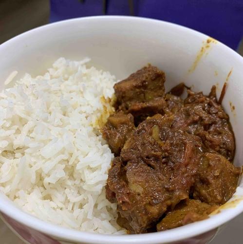 Seitan curry
