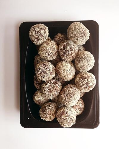 choco coconut balls!