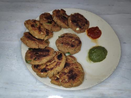 soya tikki(soya kabab)