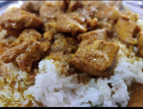 Chicken+Plain Rice