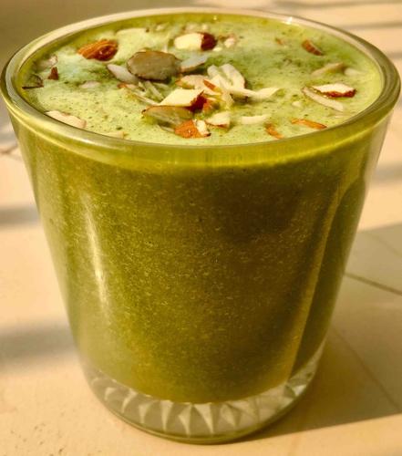 Choco Spinach smoothie