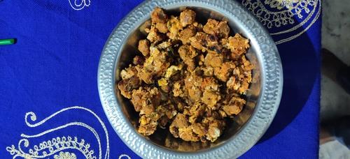 soya chunks scrambled egg