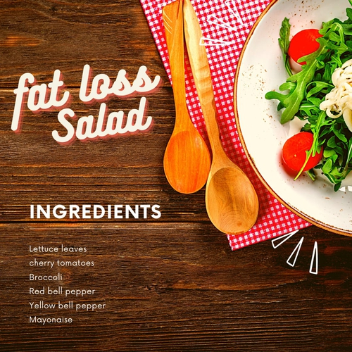 ROLE OF SALAD IN FAT LOSS JOURNEY