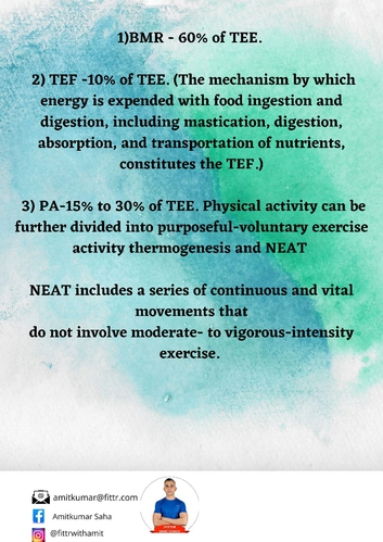 Benefits of NEAT and its contribution in special population