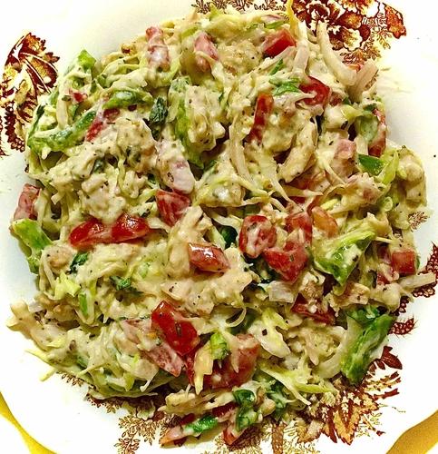 Cheesy Chicken Salad