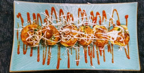 Egg spinach appe