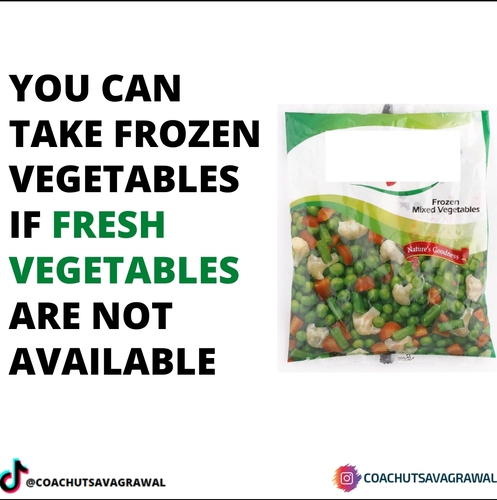 VEGETABLES IN LOCKDOWN