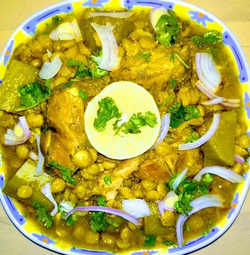 Split bengal gram Curry