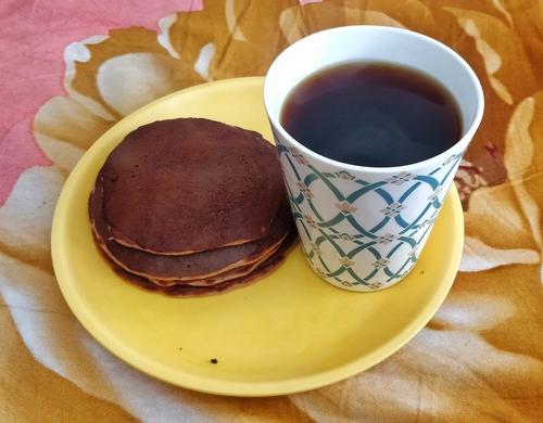 Protein banana pancake