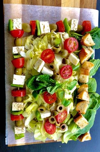Italian fusion salad