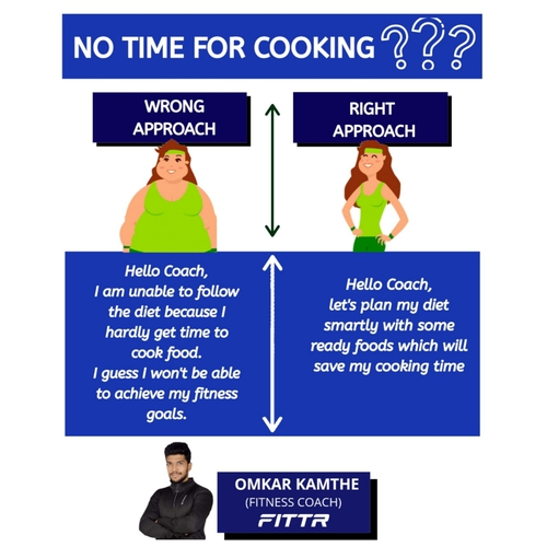 NO TIME FOR COOKING ?