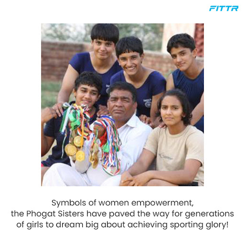 Meet the real 'Phogat' sisters!