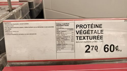 Vegetarian Protein Source