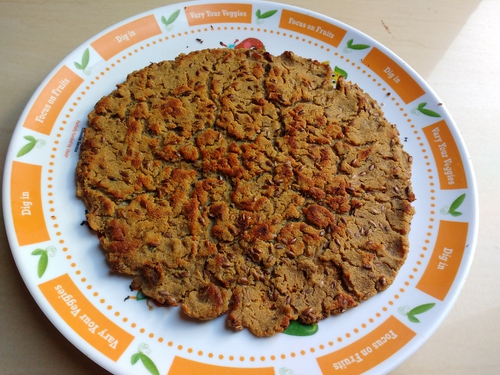 Soya flaxseed chapati