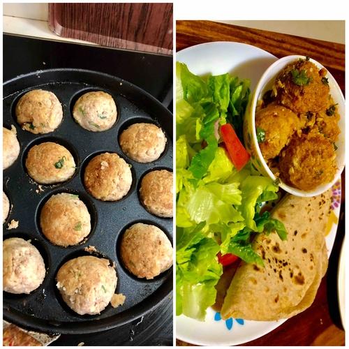 soy kofta curry (serves 2)