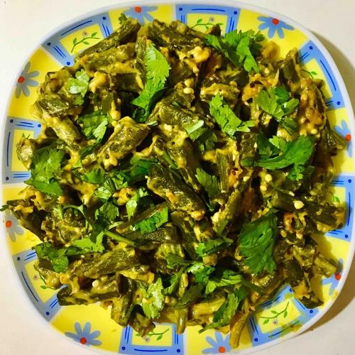 Curdoholic Okra