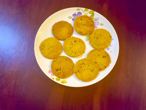 Baked Wheat Mathri (13calorie each)