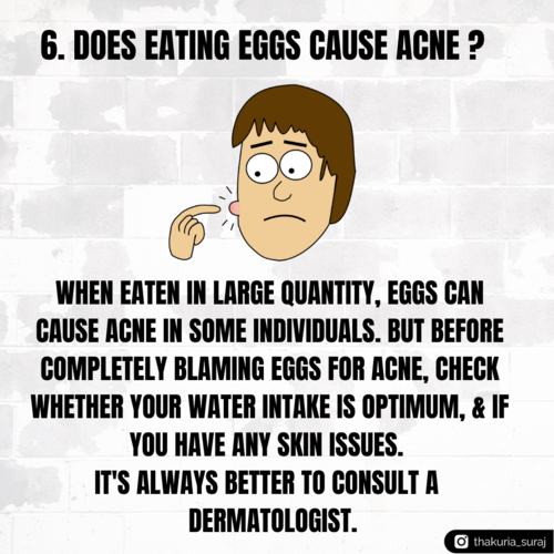 Common concerns regarding eggs