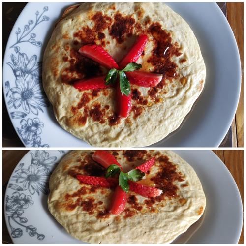 Protein Pancakes using Soy flour and white eggs