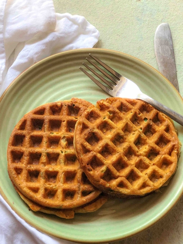 Soya Suji Waffles