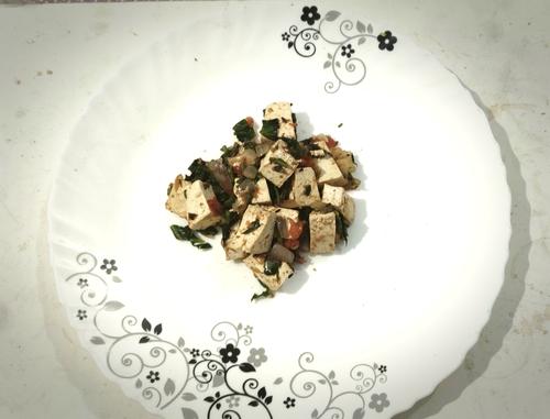 chilli tofu paneer