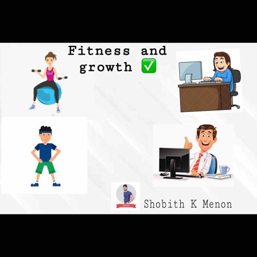 How is fitness related to your career growth !!
