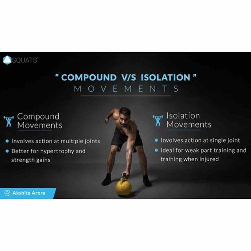 Compound v/s Isolation Exercises