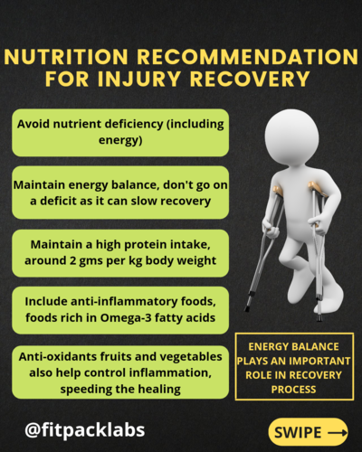 NUTRITION FOR RECOVERY