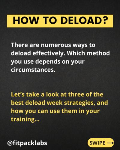 DELOAD TO RELOAD - PART 1