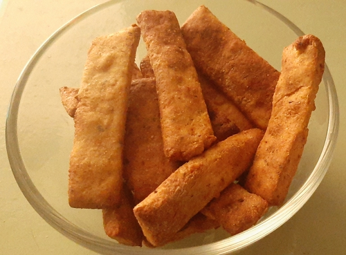 Soya Sticks in Air Fryer