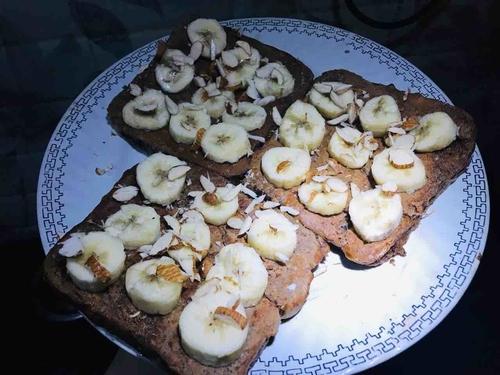 Whey Banana French toast