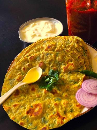 Avocado Paratha