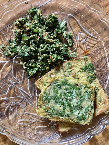 Spinach & Egg Delight!