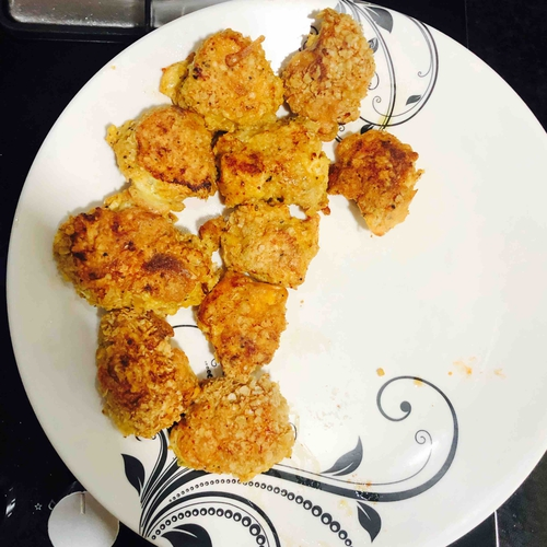 Oats Fried Chicken Nuggets