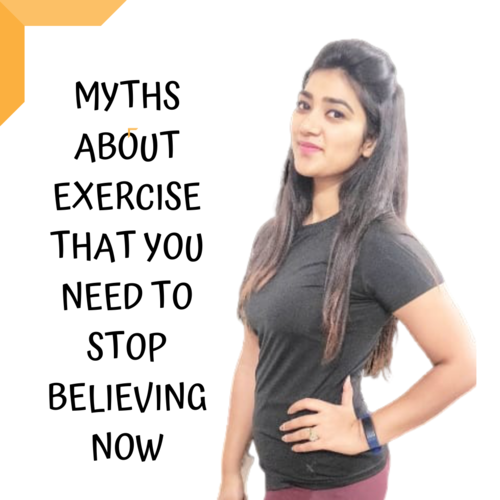 EXERCISE MYTHS THAT YOU NEED TO STOP BELIEVING NOW!