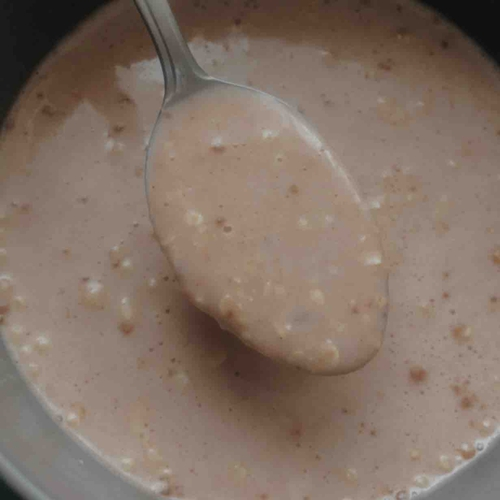 Protein-loaded strawberry ice cream oats