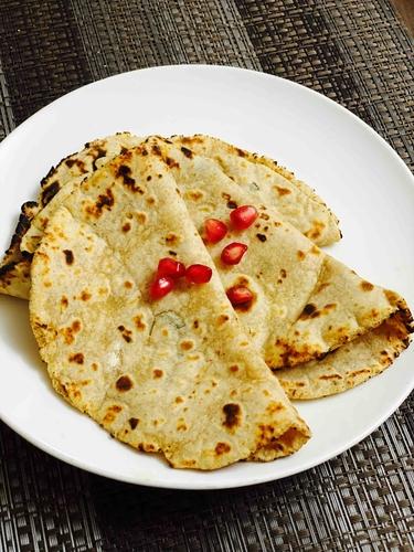 Paneer and Kasoori Methi Chapati 1