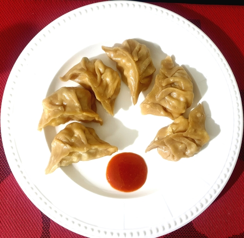 Chicken Momos- Whole Wheat