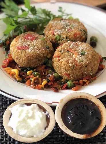 Bulgur cutlet