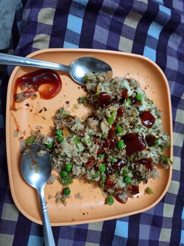 High protein Soya Bhurji
