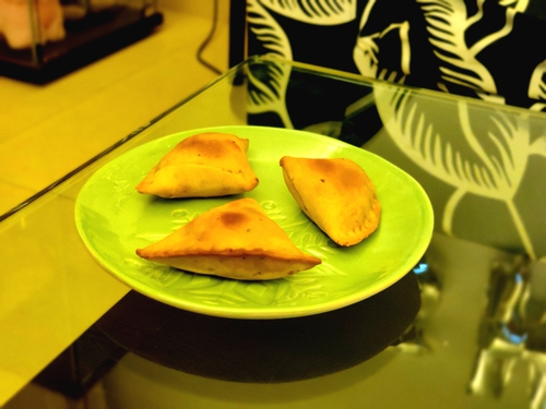 Healthy Baked Paneer Samosa
