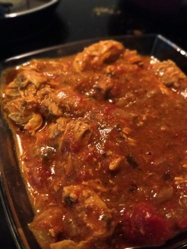chicken curry (Delhi style)